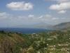 Golfo di Velia visto dal Castello di Molpa