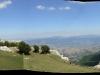 Panoramica N-E dal santuario della Madonna della Neve