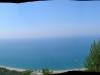 Veduta panoramica della Cala del Cefalo, Mingardo, Baia della Molpa e Buondormire
