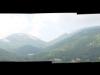 Veduta panoramica di Vallivona, con il Monte Faiatella, la Cima di Mercori e la Cima del Monte Cervati